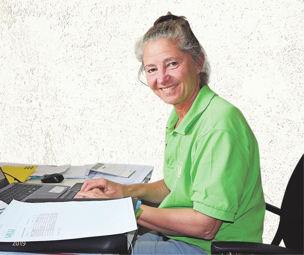 Brigitte Willi achtet auf eine gute Arbeitsqualität. Bild: PD