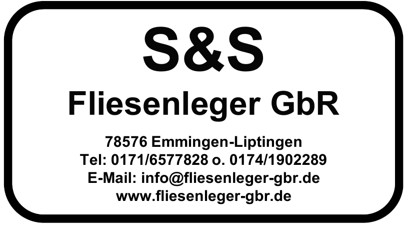 S&S Fliesenleger GbR