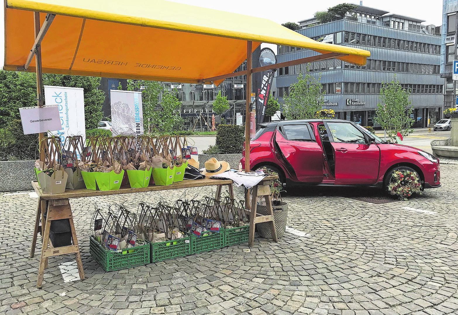 Der Gewerbeverein Herisau am Wochenmarkt Image 3