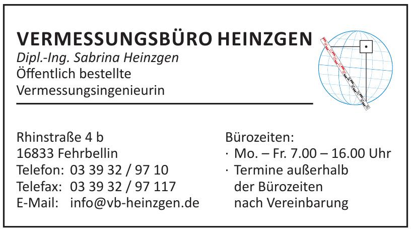 Vermessungsbüro Heinzgen