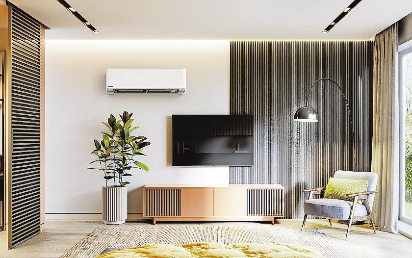 Ganzjähriger Nutzen: Klimageräte auf Basis einer Luft/Luft-Wärmepumpe können nicht nur kühlen, sondern bei Bedarf auch heizen. FOTO: DJD/PANASONIC HEATING & COOLING SOLUTIONS
