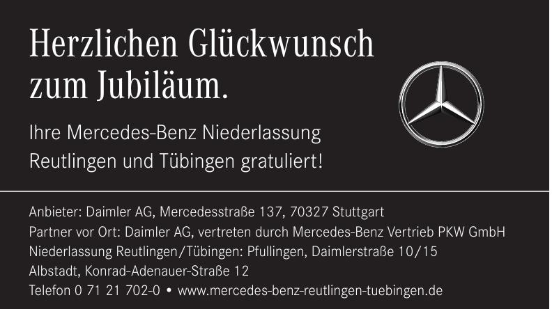 Mercedes-Benz Reutlingen und Tübingen