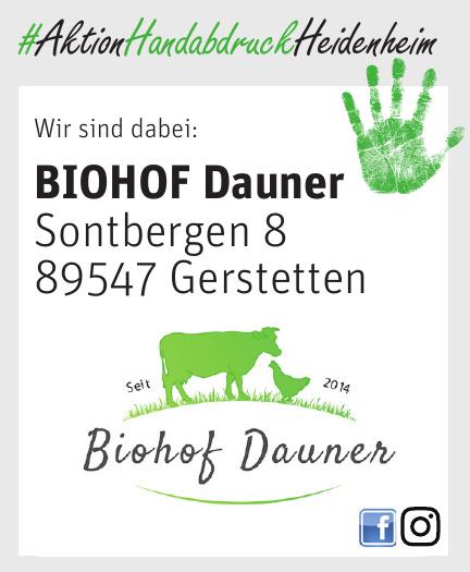 BIOHOF Dauner