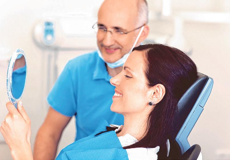 Wer Wert auf hochwertige Behandlungen legt, sollte über eine Zahnzusatzversicherung nachdenken Foto: Barmenia