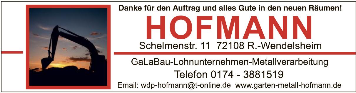 Hofmann Galabau