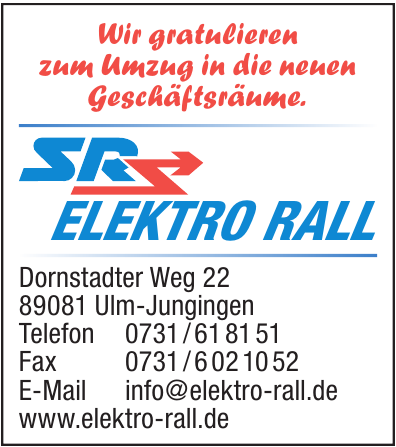 SR Elektro Rall