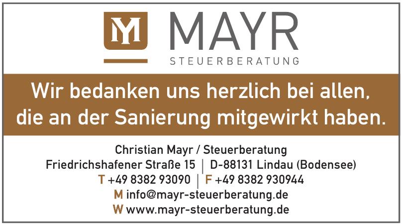 Christian Mayr / Steuerberatung