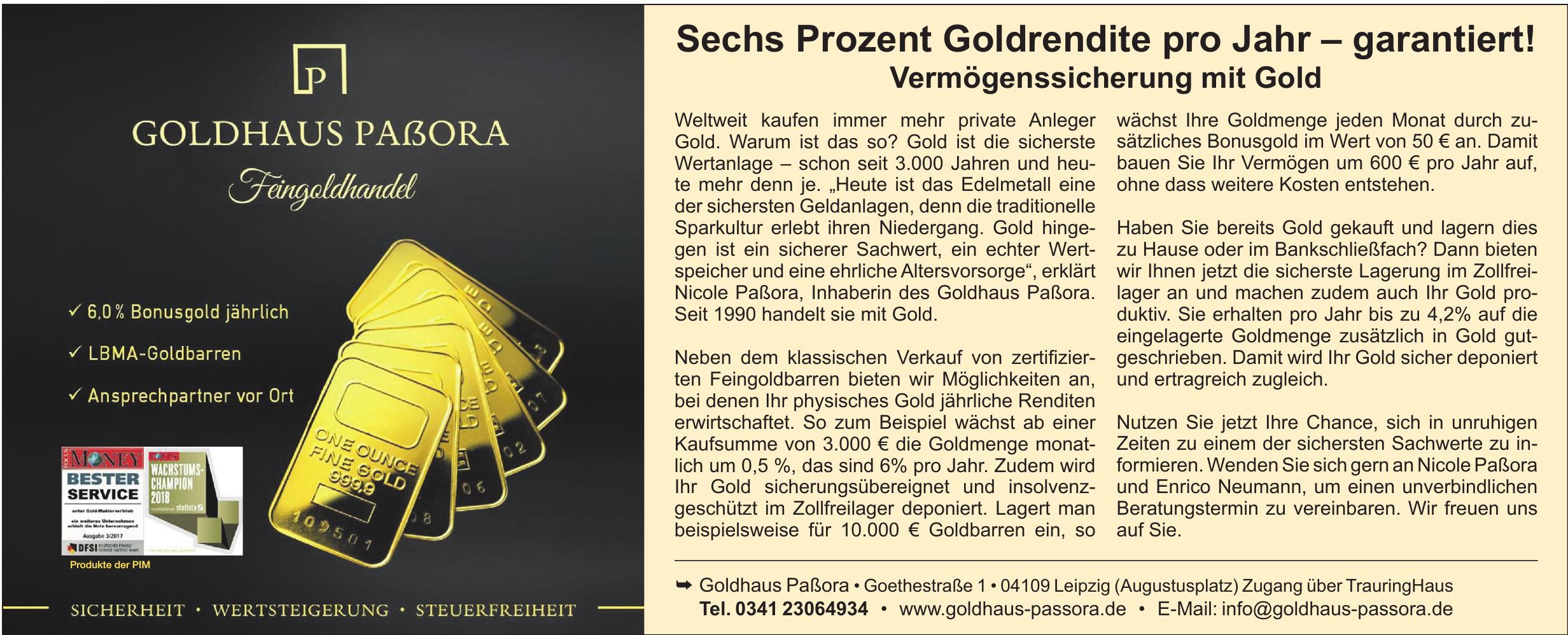 Goldhaus Paßora