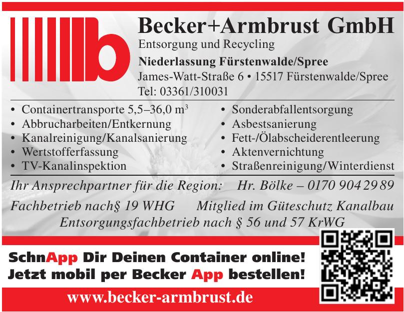 Becker+Armbrust GmbH
