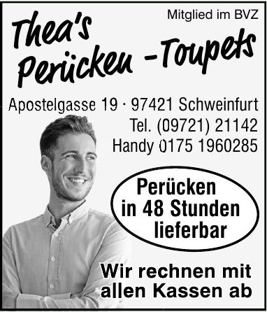 Thea´s Perücken - Toupets