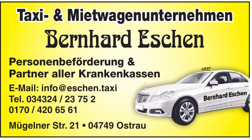 Taxi- & Mietwagenunternehmen Bernhard Eschen