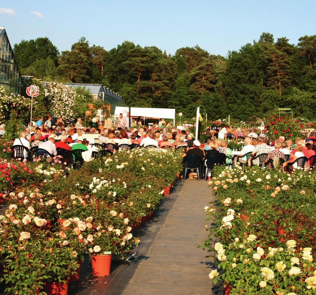 Das Rosengut Langerwisch setzt auf Events.Foto: Rosengut Langerwisch
