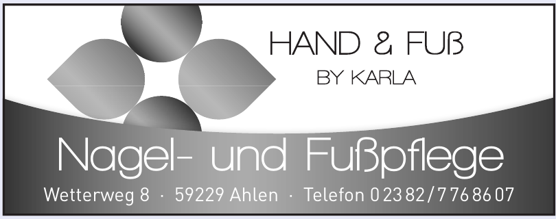 Hand & Fuß bei Karla