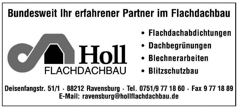Holl Flachdachbau