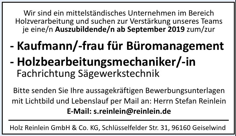 Holz Reinlein GmbH & Co. KG