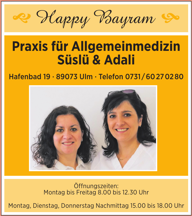 Praxis für Allgemeinmedizin Süslü & Adali