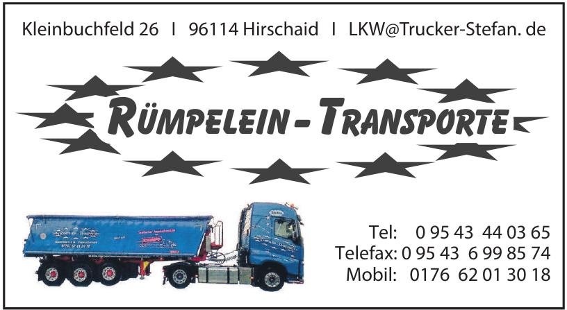 Rümpelein-Transporte
