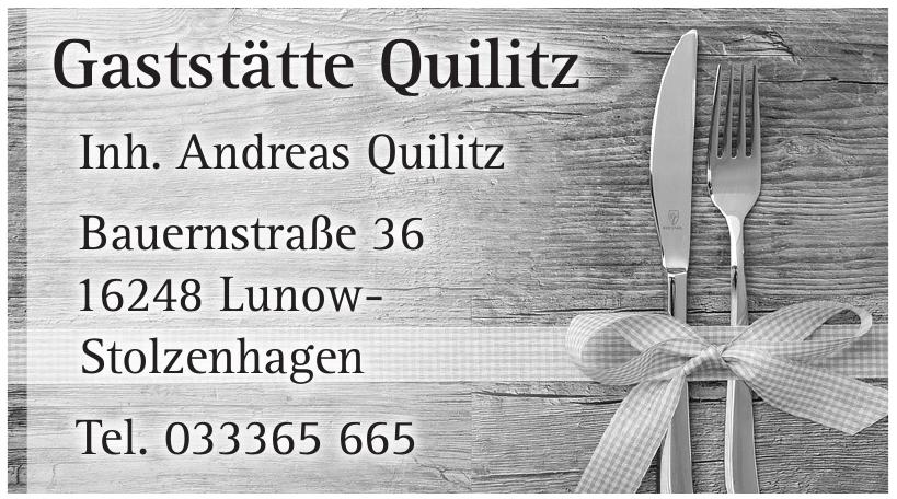 Gaststätte Quilitz