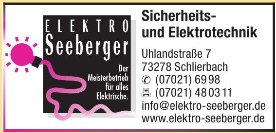 Elektro Seeberger