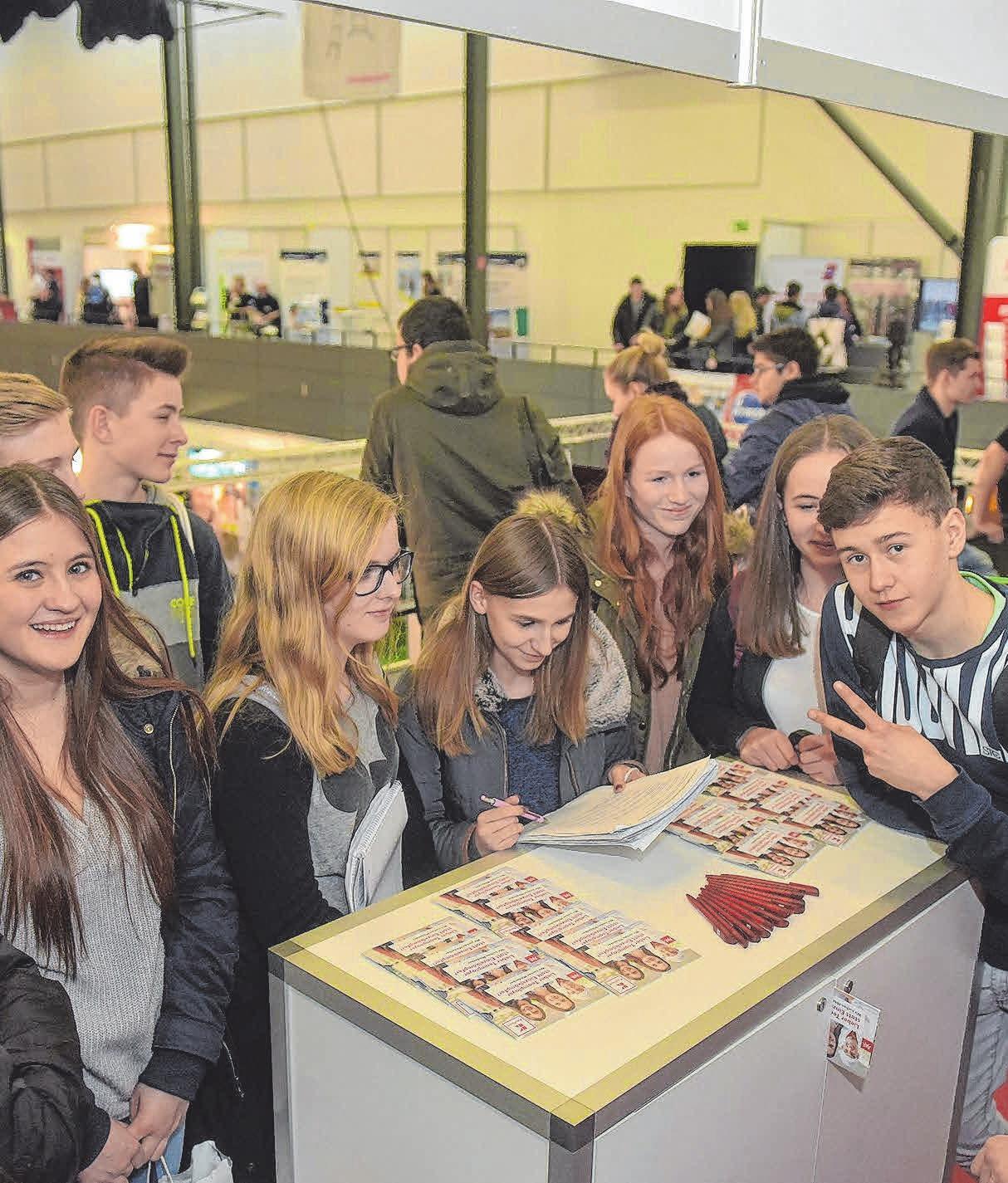 Die kostenfreie Messe bietet Infos und Tipps rund um Beruf und Studium. FOTO:IHK/DEREK SCHUH