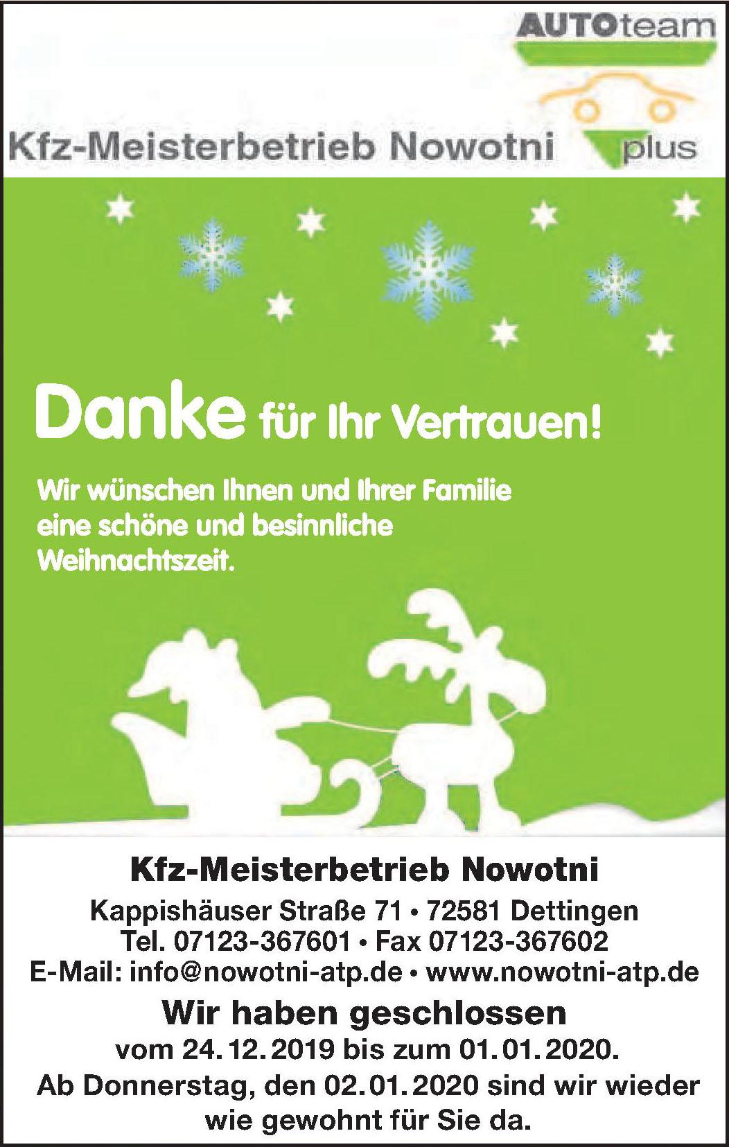 KFZ-Meisterbetrieb Nowotni