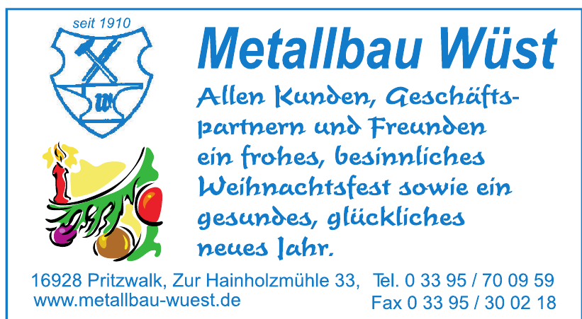 Metallbau Wüst