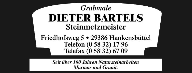 Dieter Bartels Steimetzmeister