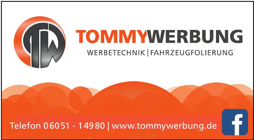 Tommy Werbung