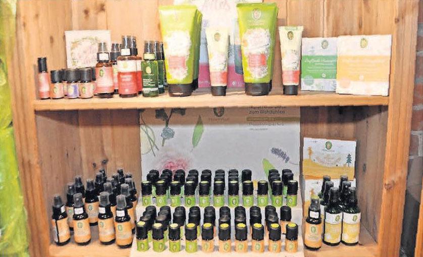 Primavera gehört zu den Kosmetikprodukten, die im Speicher angeboten werden.