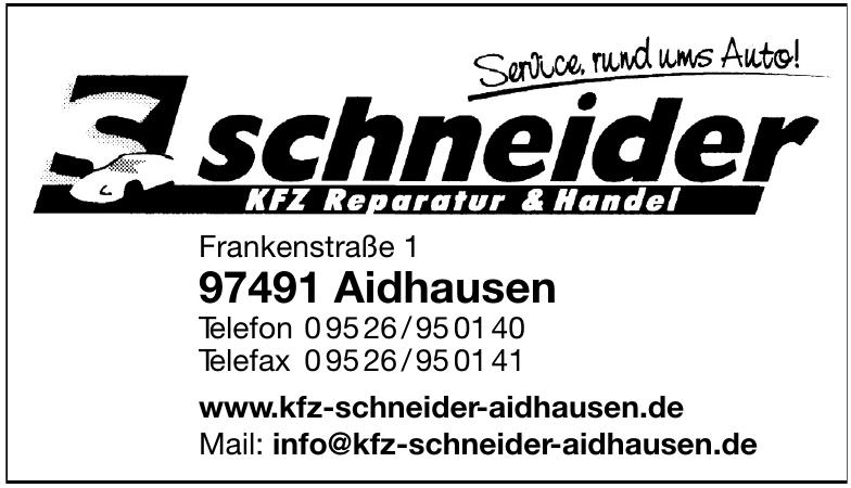 Kfz Schneider Aidhausen