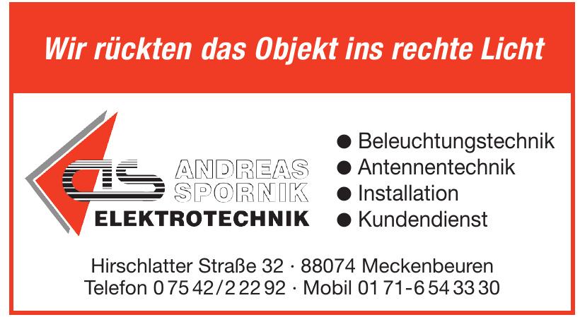 Andreas Spornik Elektrotechnik