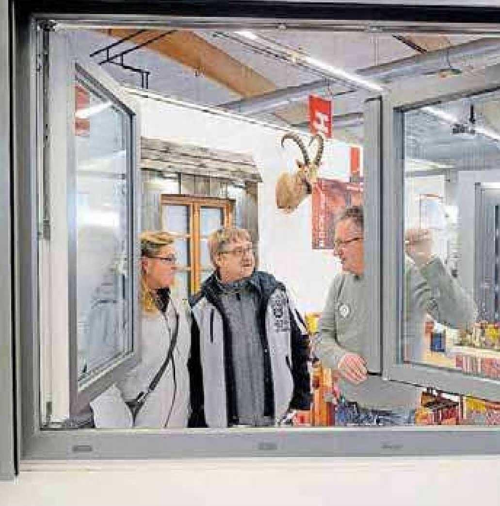 Fenster sind ein großes Thema beim diesjährigen Bausalon in der Messehalle 6A. ARCHIVFOTO: BUCHHOLZ
