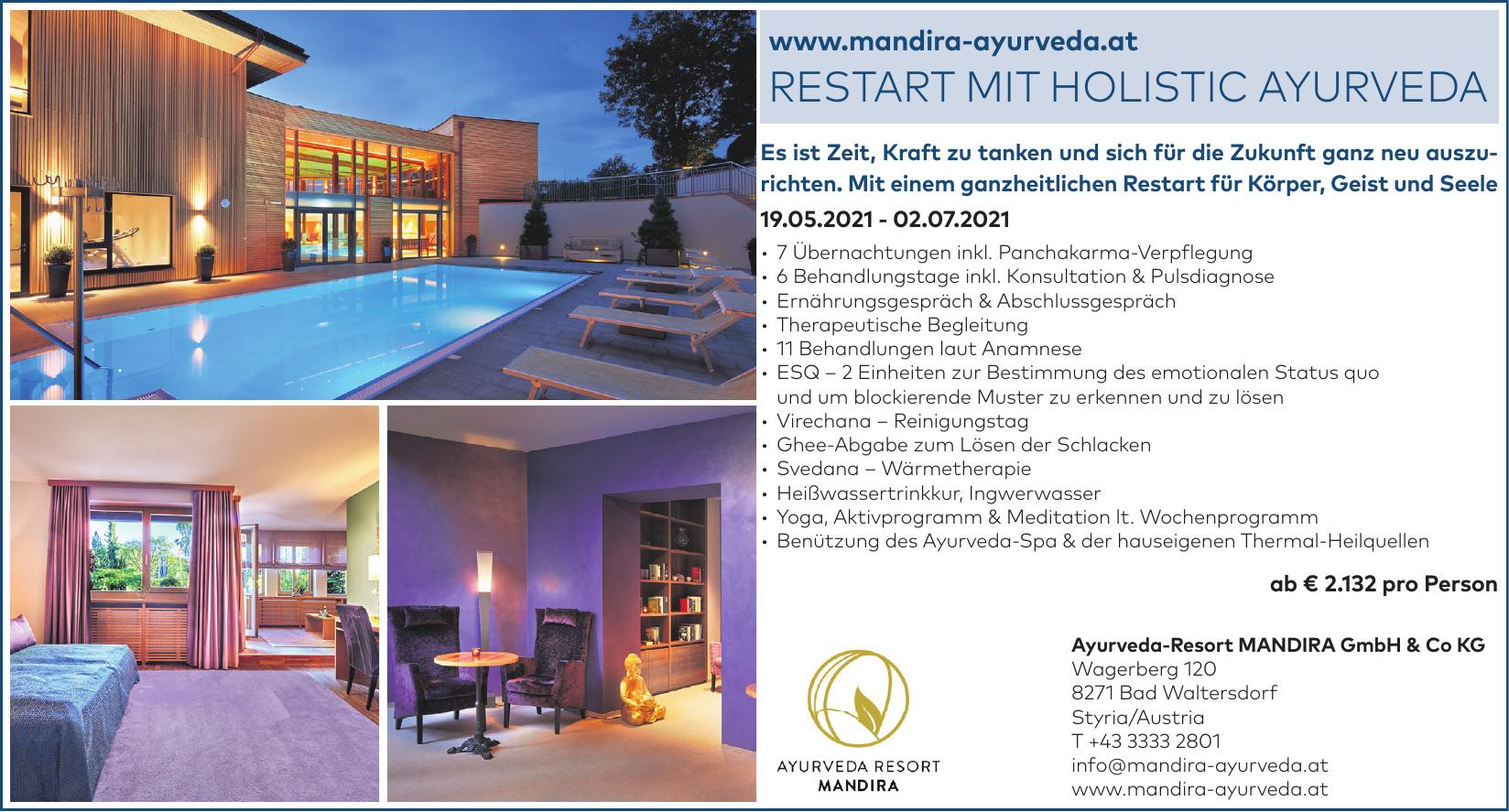 Ayurveda-Resort MANDIRA GmbH & Co KG