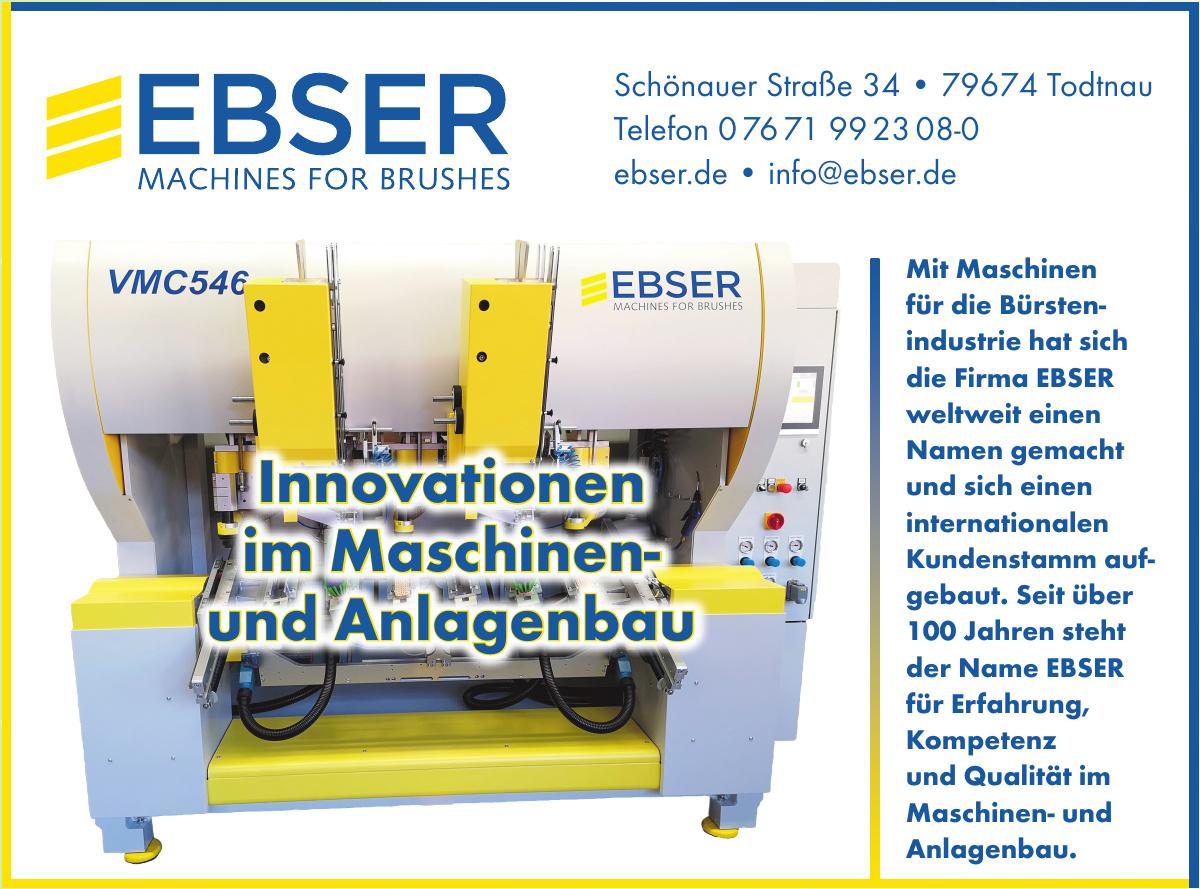 Ebser Mechanical Engineering