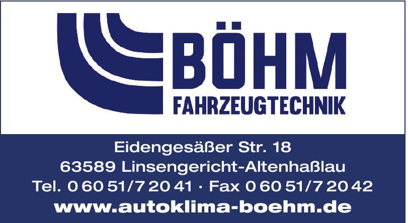 Böhm Fahrzeugtechnik