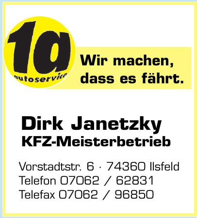 Dirk Janetzky KFZ-Meisterbetrieb