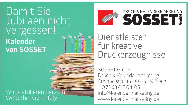 Druck & Kalendermarketing Sosset GmbH