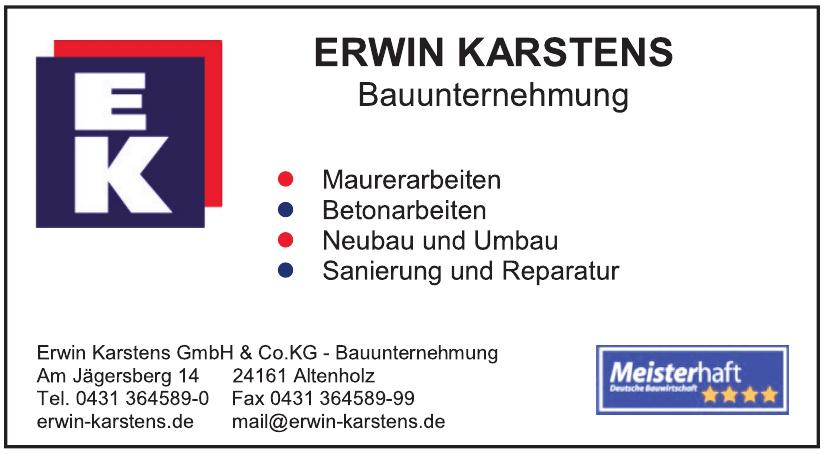 Erwin Karstens GmbH & Co. KG - Bauunternehmung