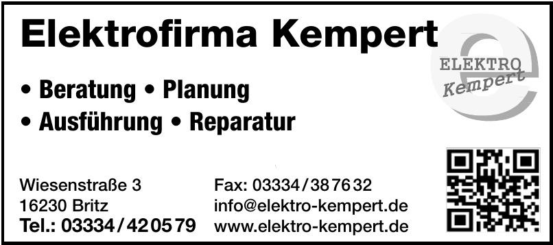 Elektro Kempert
