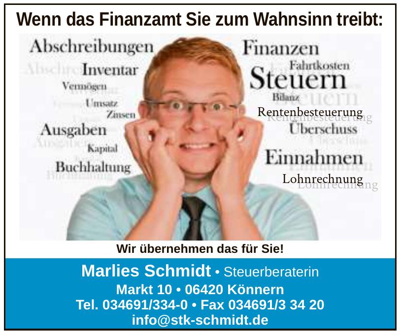 Marlies Schmidt • Steuerberaterin