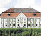 Rumpshagen in Mecklenburg. Das Herrenhaus wurde zwischen 1730 und 1732 errichtet. FOTO: NITESHIFT, GEMEINFREI