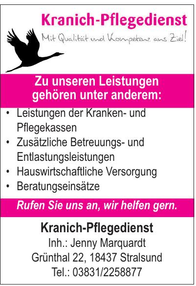 Kranich-Pflegedienst