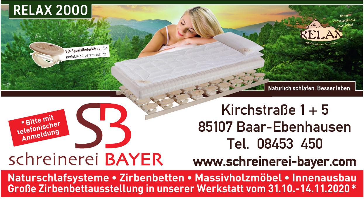 Bayer Richard – Schreinerei