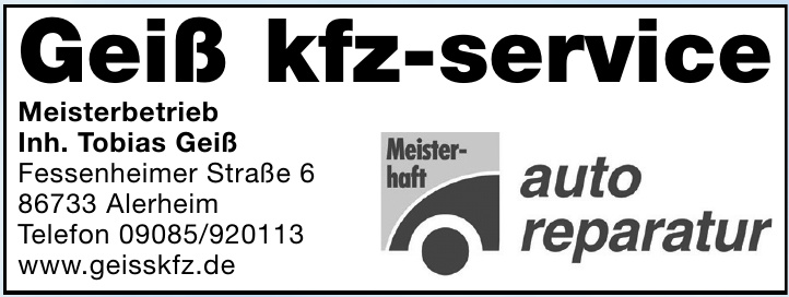 Geiß kfz-service