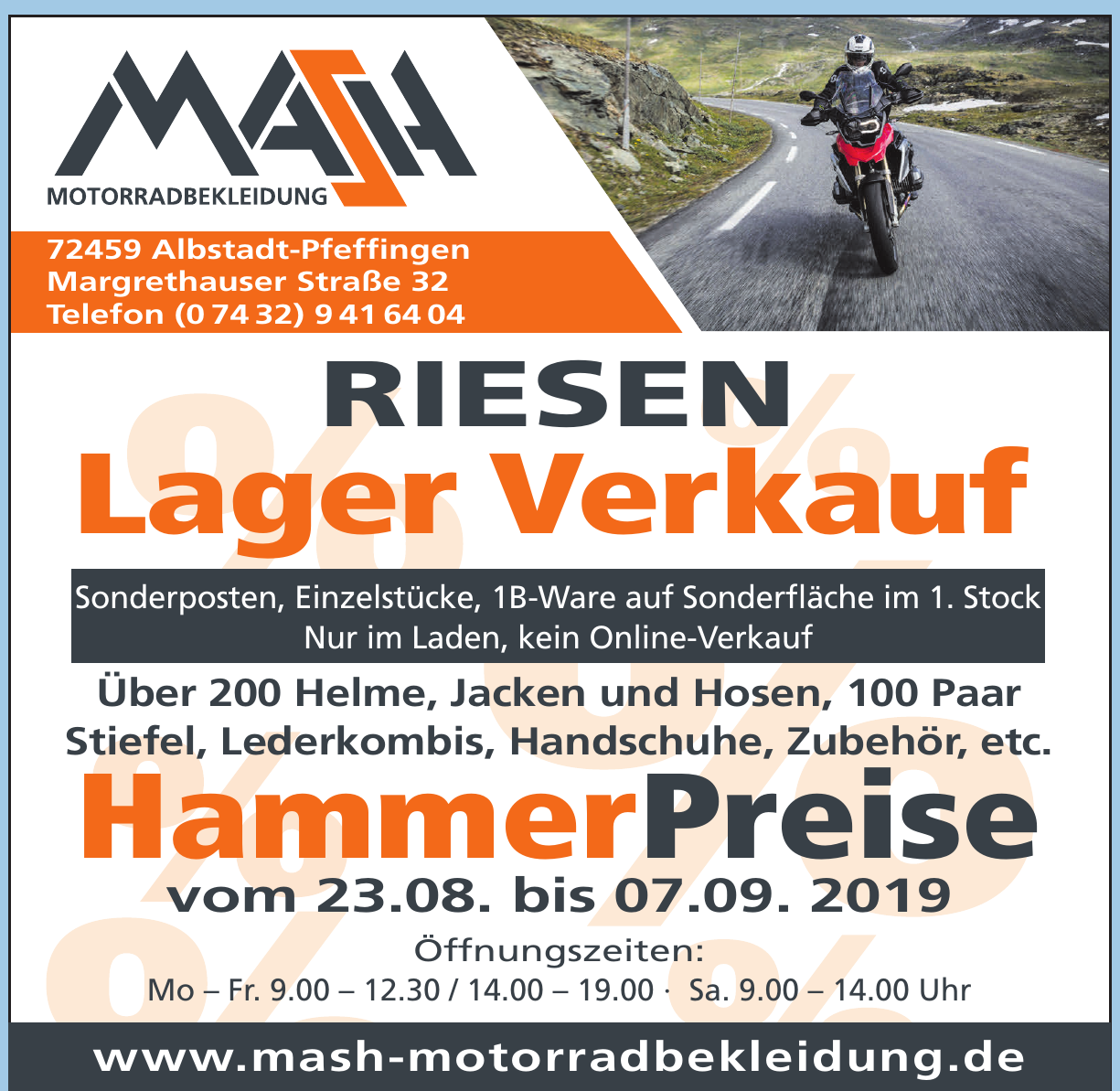 MASH-Motorradbekleidung