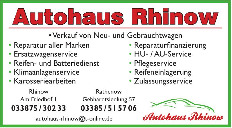 Autohaus Rhinow