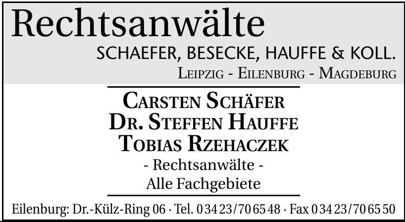 Rechtsanwälte Schaefer, Besecke, Hauffe & Koll