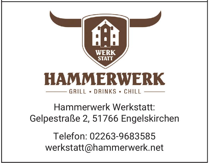 Hammerwerk Werkstatt