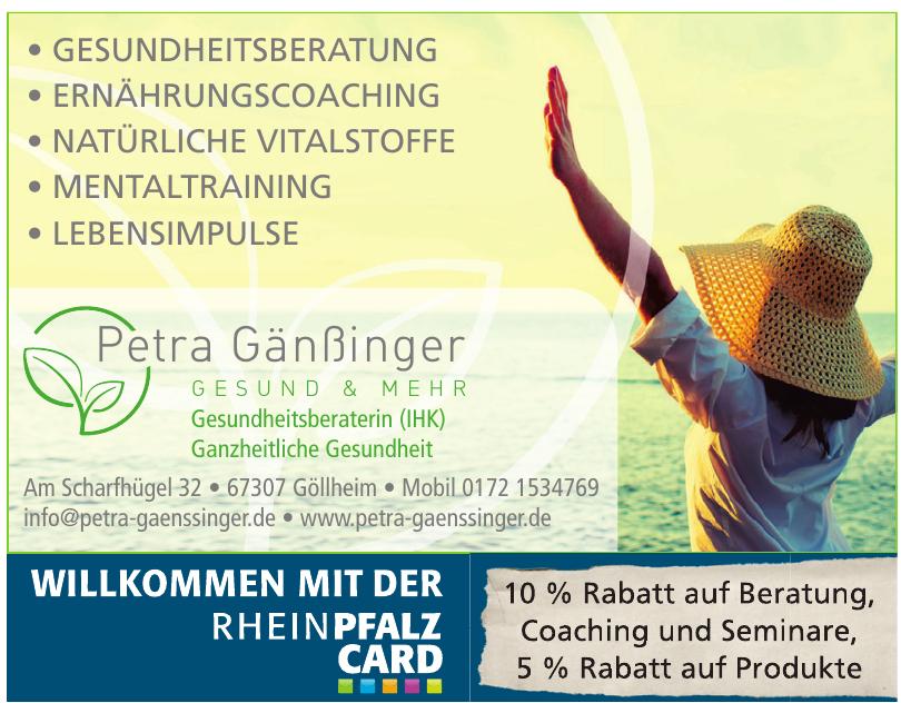 Petra Gänßinger