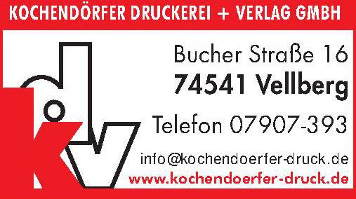 Kochendörfer Druckerei + Verlag GmbH